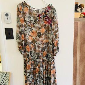 Meadow Rue/Anthropologie Espalier dress